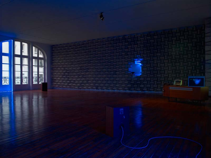 Haroon Mirza - Access Boot