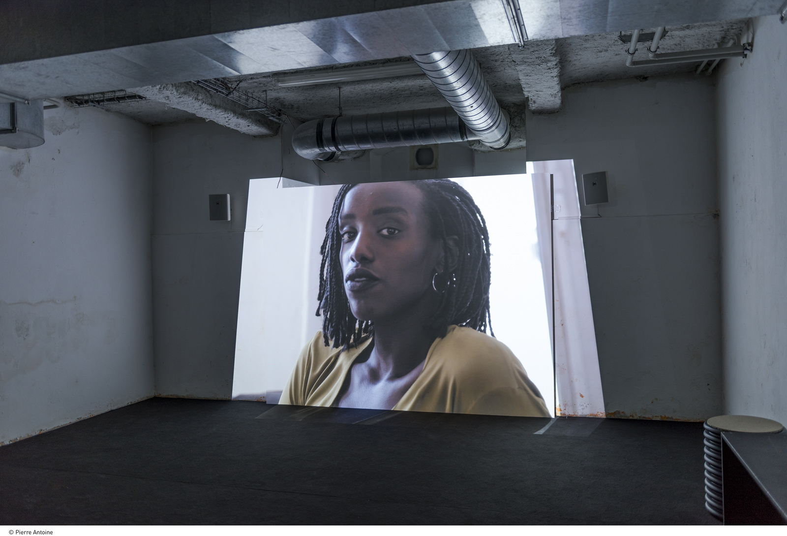 Emmanuelle Lainé et Benjamin Valenza « Est-on prêtes à endosser les habits de l'artiste ? », 2018
