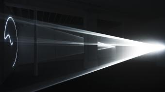 Anthony McCall, Leaving With Two-Minute Silence 2009